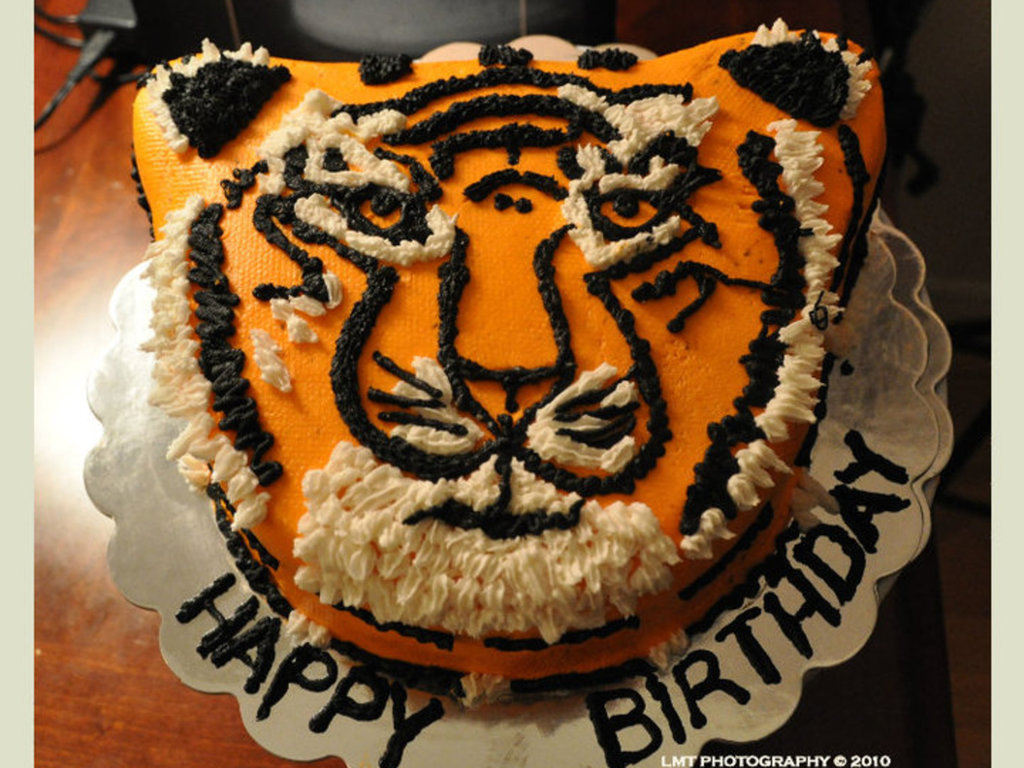 Fabulous Year Of The Tiger Birthday Cake Cakecentral Com Personalised Birthday Cards Paralily Jamesorg
