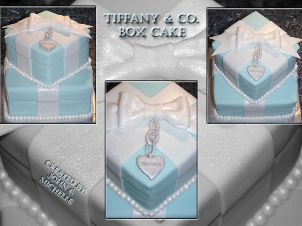 Tiffany & Co. Box Cake - CakeCentral.com
