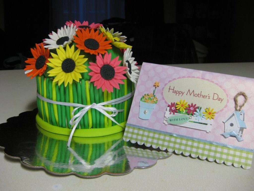 Daisy Mothers Day Cake Cakecentral