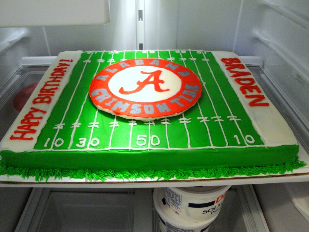 Alabama Birthday Cake CakeCentralcom