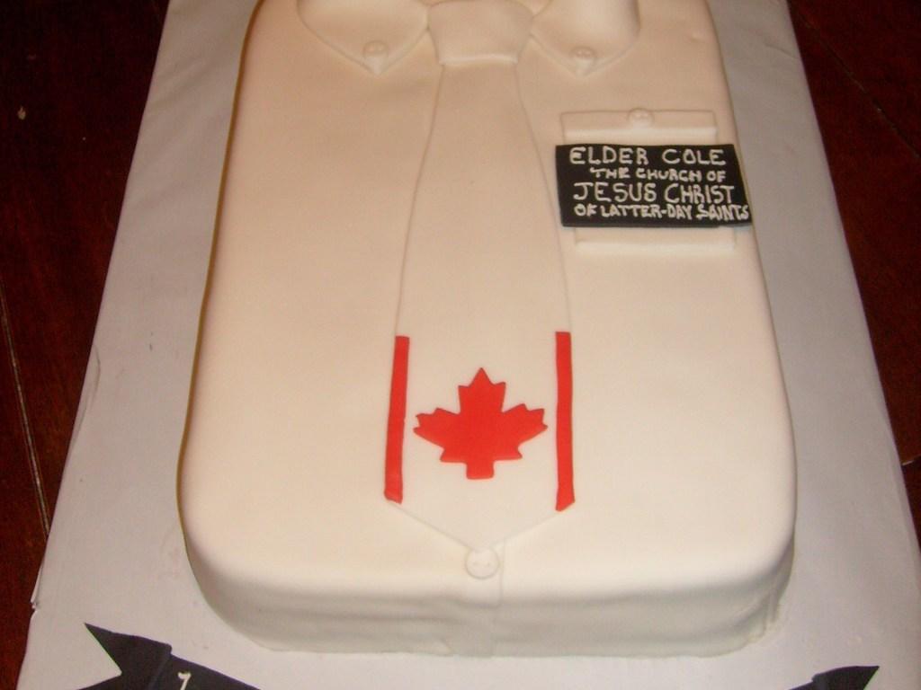 mormon missionary welcome home cake cakecentral com