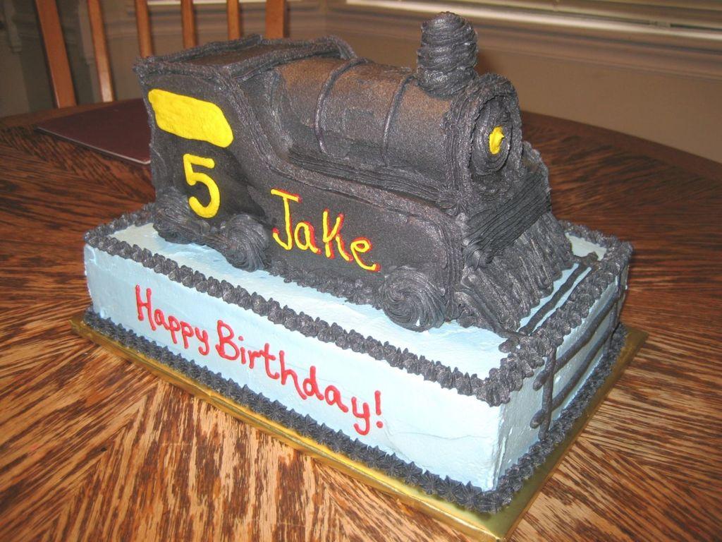 Fine Polar Express Train Engine Cakecentral Com Funny Birthday Cards Online Elaedamsfinfo