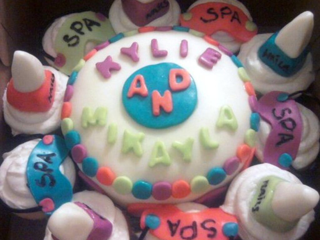 Remarkable Cake For Spa Themed Birthday Party Cakecentral Com Personalised Birthday Cards Xaembasilily Jamesorg