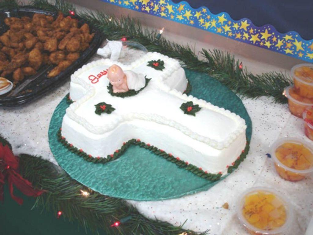 Baby Jesus Celebration Cake Cakecentral