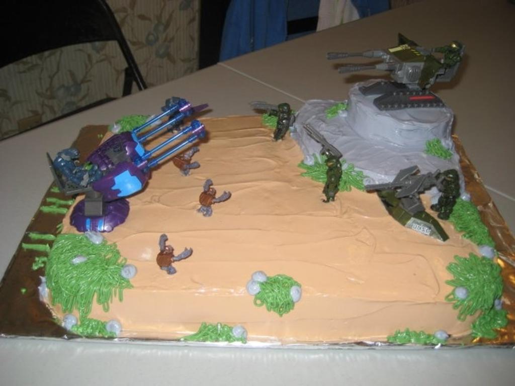 Surprising Halo Birthday Cake Cakecentral Com Birthday Cards Printable Nowaargucafe Filternl