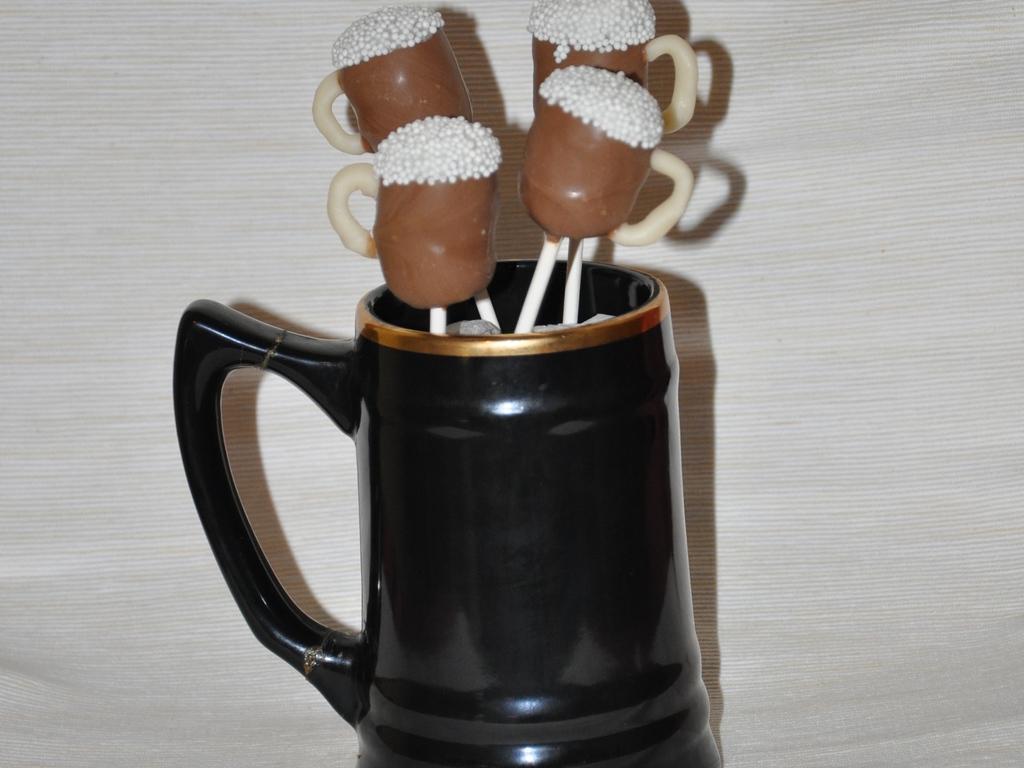Beer Mug Cake Pops Cakecentral Com