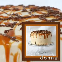 Donna This is a cake I did for a friend for her birthday last weekend. I got the recipe on Cake Central and it was a huge hit! It's the...