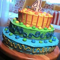 The Cake That Started It All i made this cake before discovering Cake Central, but it was this cake that started my obsession and made me want to learn more. Looking at...
