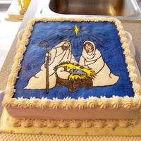 Happy Birthday Jesus This is a cake I made for my daighter's Sunday school class when they had a birthday party for Jesus. FBCT