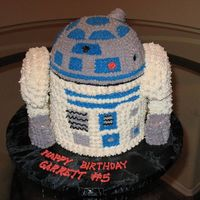 R2D2 Inspired by Christina's Cakes (thank you!).