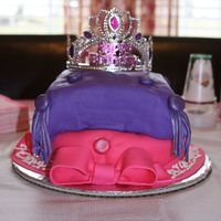 Crown Cake   Princess cake