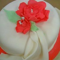 Gumpaste Course Cake strawberry cake