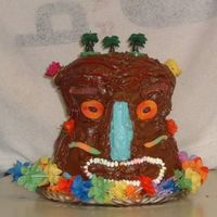 Tiki Cake TIKI GOD FOR LUAU