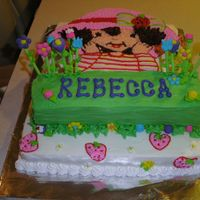 Strawberry Shortcake (Whole Cake) This is a better picture of the Strawberry Shortcake where you can see the whole cake. This was a lot of fun. A LOT of work, but rewarding...