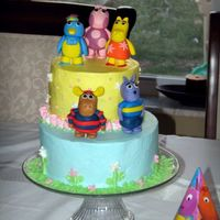 Backyardigans 2Nd Birthday Cake I donât have much time to do cakes lately â so every time I do one â I try to challenge myself in some way....