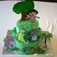 Dora Buttercream cake with RIT.
