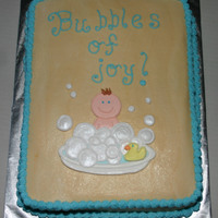 Bubbles Of Joy Buttercream with RIT.