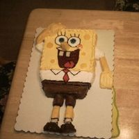 Spongebob SpongeBob SquarePants cake for my sons 2nd virthday.