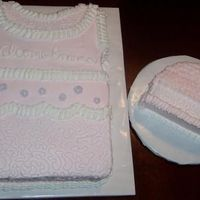 Girl Baby Shower Cake Thanks to the decorator who gave me this idea. I was asked to decorate the cake however I wanted. My friend just said that they wanted pink...