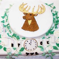 My Aunt's An Exalted Ruler! Elk cake for my Aunt's installation as first female ER of her lodge!