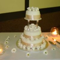 A Simple Cake For A Simple Wedding