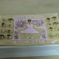 Birthday Ballerina Cookie Card Made this for my sister-in-law's 14th birthday! She takes dance classes and especially loves ballet. Supposed to be a ballerina on a...