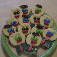 Cookies For Lds Missionaries Coming For Dinner Wanted to do something special and fun so made these! Eyes from M&Ms, hair from sugar cookie dough (and some covered with chocolate),...