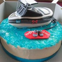Boat_Cake.jpg This was so time consuming to make but the customer LOVED it so it was well worth it. Everything on this cake is edible except for the...