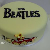 Yellow Sub -Beatles Another Beatles cake for my friend who is a mad Beatles fan.