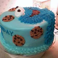 Cookie Monster Side View