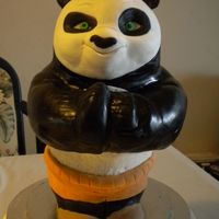 Kung Fu Panda 12 inch kung fu panda display.All rice crispy treats