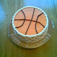Basketball Cake I made this cake for a friend's daughter. It was her 3rd birthday. The little girl is a HUGE Lady vol fan. This cake was a big hit.All...
