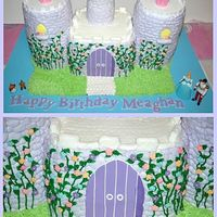 Cinderella Castle Birthday Cake