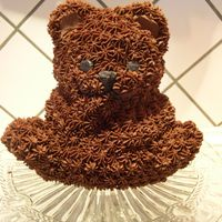 My Very First 3D-Bear This was my very first 3D-cake, and I thought it turned out pretty ok. It's a ginger-chocolate cake covered with vanilla-chocolate...