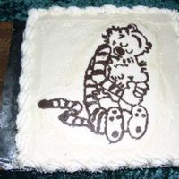 Calvin And Hobbes This cake was for my DH's birthday. We both love Calvin and Hobbes, so it was only natural that my first attempt with a FBCT should be...