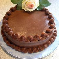 Chocolate And Passion Fruit Mousse I've wanted to try the Bittersweet chocolate frosting from this site for a while, and decided that my own birthday was just right for...