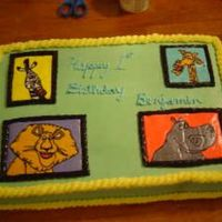 Madagascar 1St Birthday FBCT of Madagascar characters