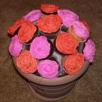 Cupcake Bouquet 3 Last one...for now. These were fun.