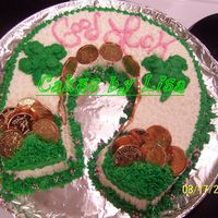Saint Patricks Day this cake was a blast!!!