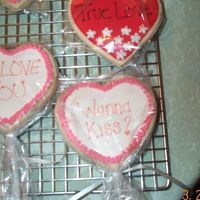 Valentines Day Cookies Same cookies.