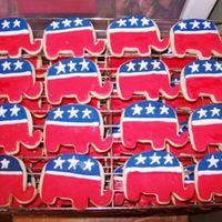 Gop Elephants An order for a party on the 4th... 125 of these suckers. I was tired of red, white and blue by the end of it all. NFSC with MMF and Antonia...