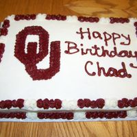 Ou This is done with bc. I am a Cowboys fan so I cannot tell you how much it pained me to make this cake....I am soooo do not like OU. My...