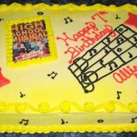 High School Musical I got the inspiration for this cake off of this site, so thanks to all who contributed to the final product. The image is not edible. It...