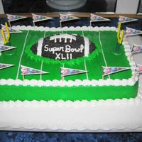 Superbowl This was duplicated from another picture I found on this site. Thought it turned out pretty cute!