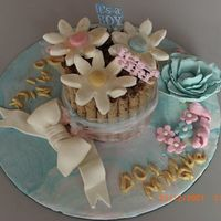 For Boy And Girl Twins This is pirouette cake made for a boy and girl. It is my first cake I have given to a friend and though there a several mistakes, I am...