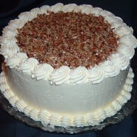 Butter Pecan Cake This is a cake I made for our early Thanksgiving dinner. This was almost my first time using IMBC. I think I whipped it too long in the end...