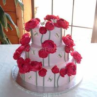 Buttercream With Silk Ranunculus