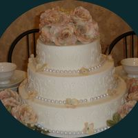 Ge978 Wedding Cake This was one of my first wedding cakes...