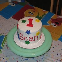 Smash Cake 6 in smash cake for 1st birthday
