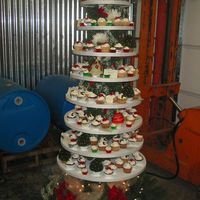Christmas Cupcake Tree This year I was asked to donate a cake for our local Winery's Holiday Open House - this is what I came up with. I thought that it...